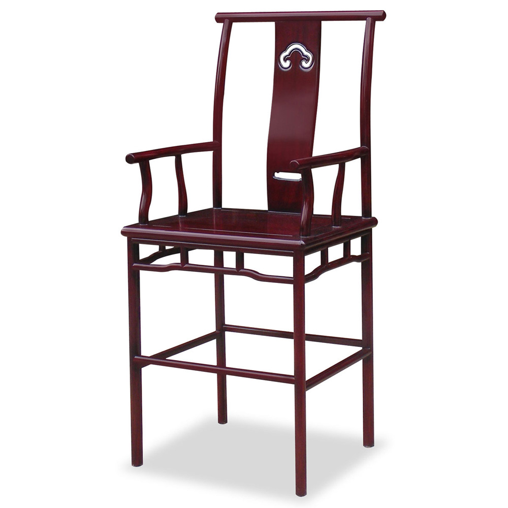 Rosewood Ming Design Bar Stool