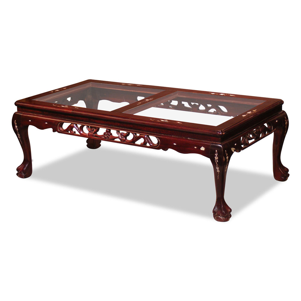 Rosewood Imperial Dragon Coffee Table