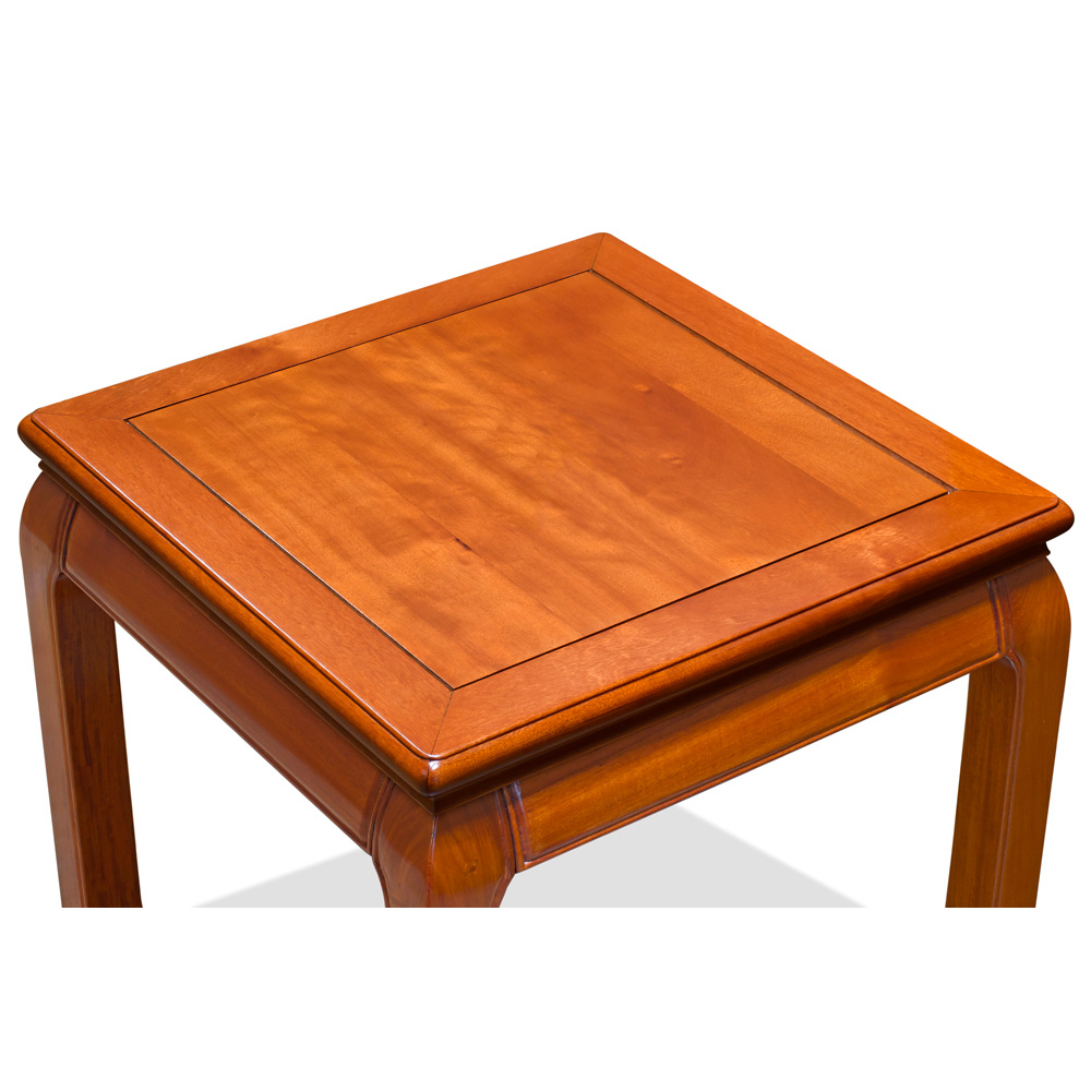 Natural Finish Rosewood Chinese Ming Side Table