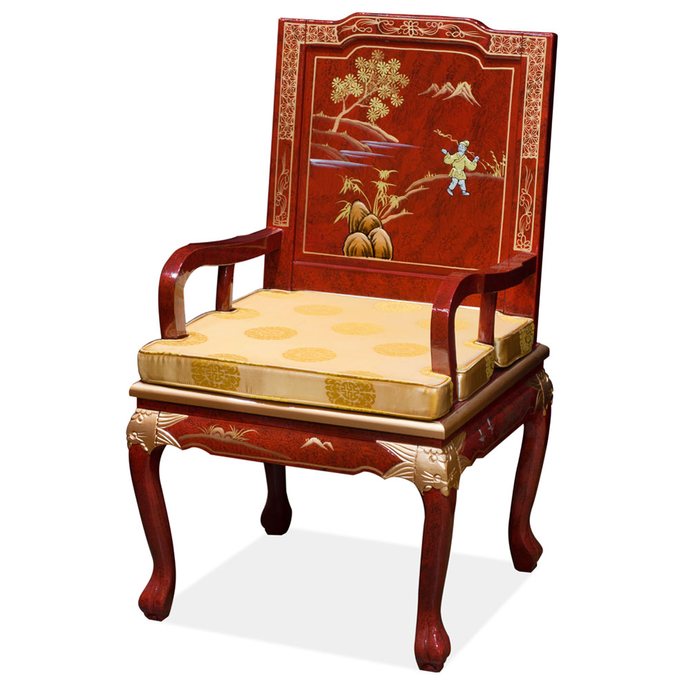 Scenery Design Tiger Claw Arm Chair