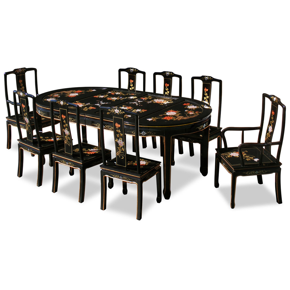 Hand Painted Round Dining Room Table Image Mag