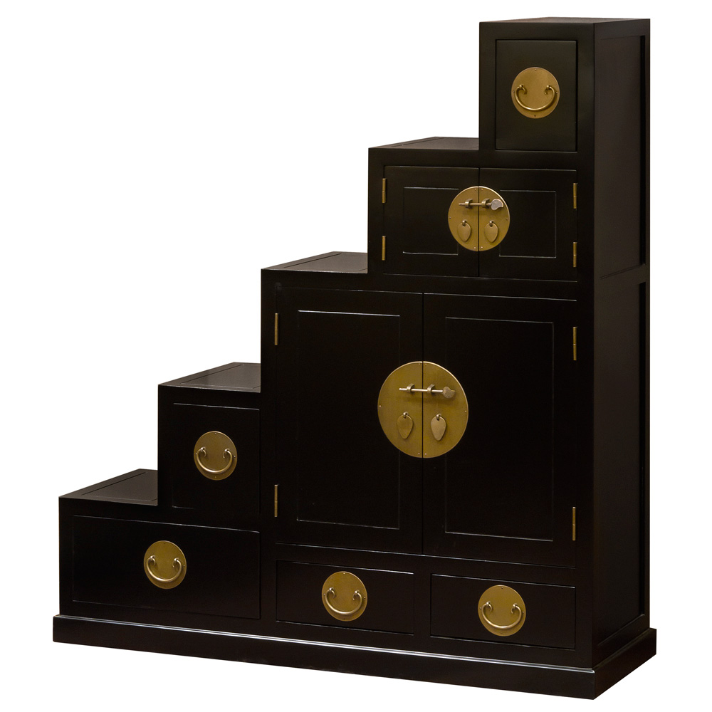 Ming Style Step Tansu Chest