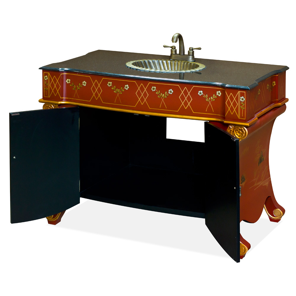 French Style Vanity Cabinet