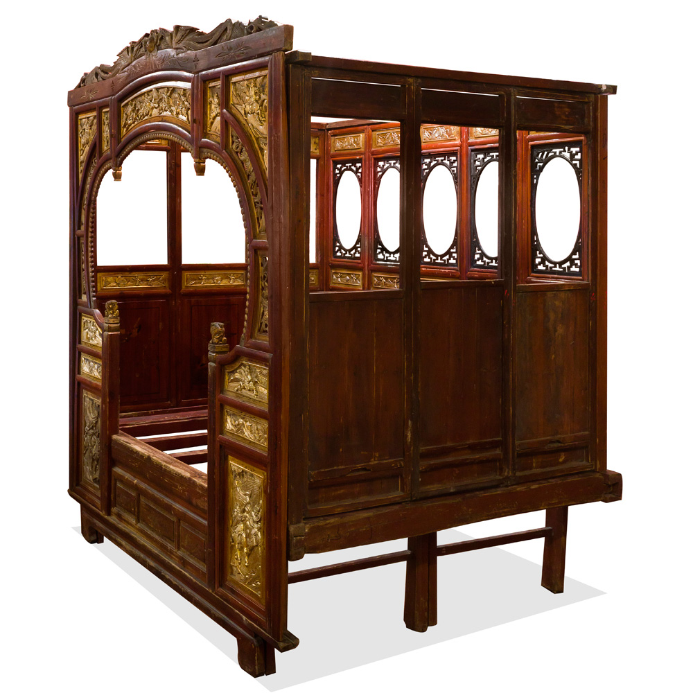 Antique Gu Fei Canopy Bed