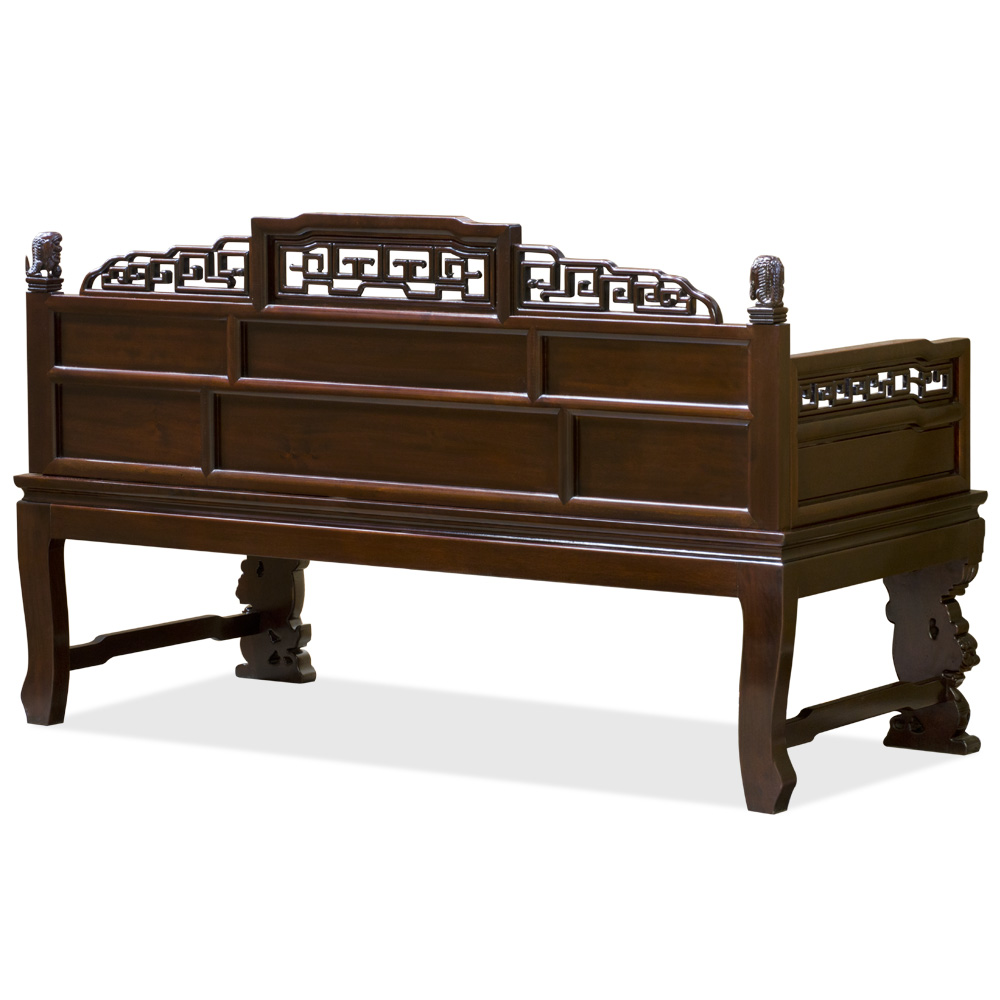 Mahogany Finish Rosewood Imperial Palace Day Bed