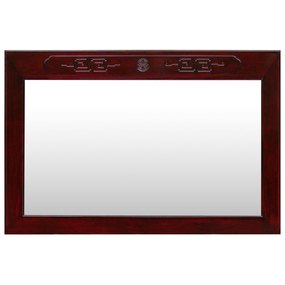 Dark Cherry Rosewood Longevity Mirror