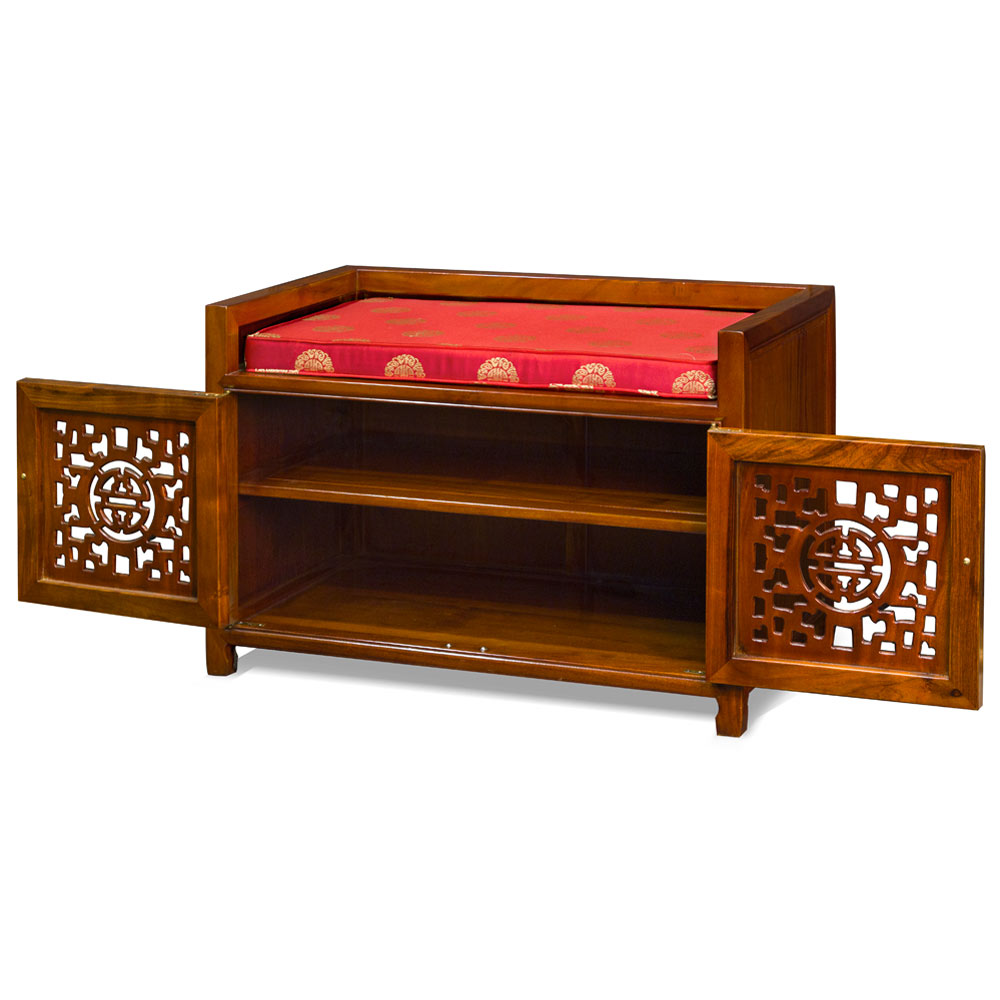Rosewood Longevity Design Bench