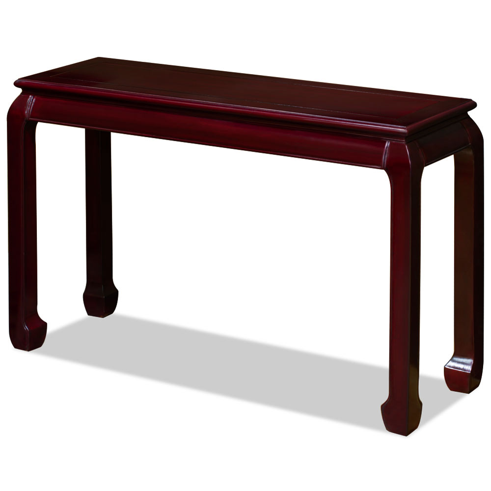 48in Rosewood Ming Console Table