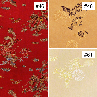 Prosperity Dragon & Phoenix Design (#46, #48, #61)