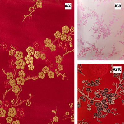 Cherry Blossom Design (#66, #68, #218) Ming Style Chair Cushion