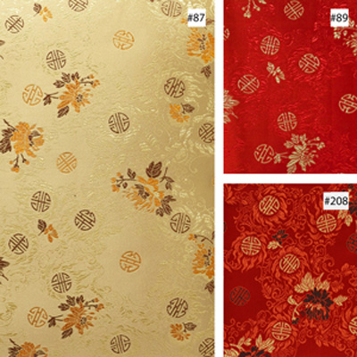 Floral Longevity Design (#87, #89, #208) Ming Style Chair Cushion