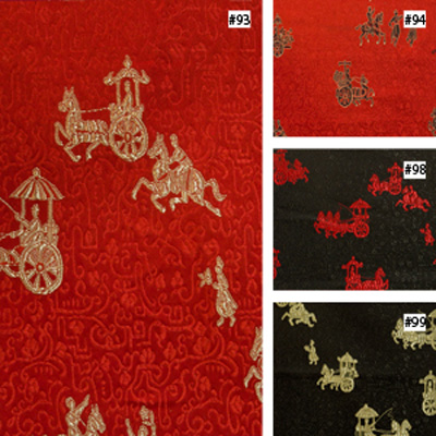 Chariot Design (#93, #94, #98, #99) Ming Style Chair Cushion