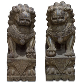 Imperial Stone Foo Dogs