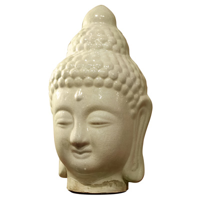 Ceramic Enlightened Buddha Head