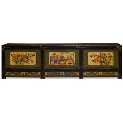 Elmwood Chalin Tibetan Media Cabinet