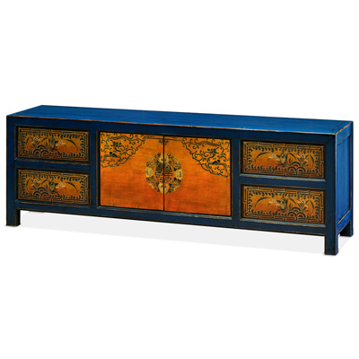 Elmwood Tibetan Kang Media Cabinet