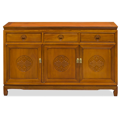 Natural Finish Rosewood Longevity Sideboard