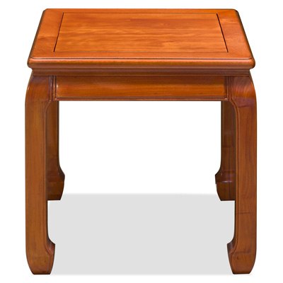 Natural Finish Rosewood Ming Side Table