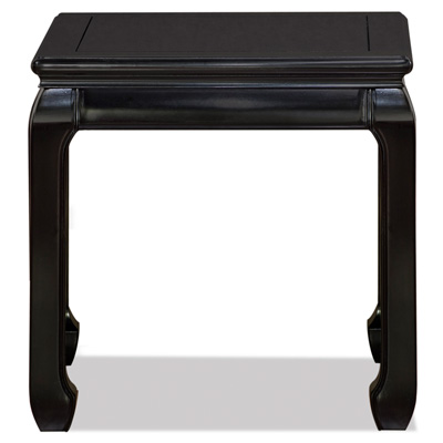 Black Rosewood Ming Side Table