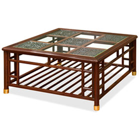 Red Ebony Ming Style Coffee Table