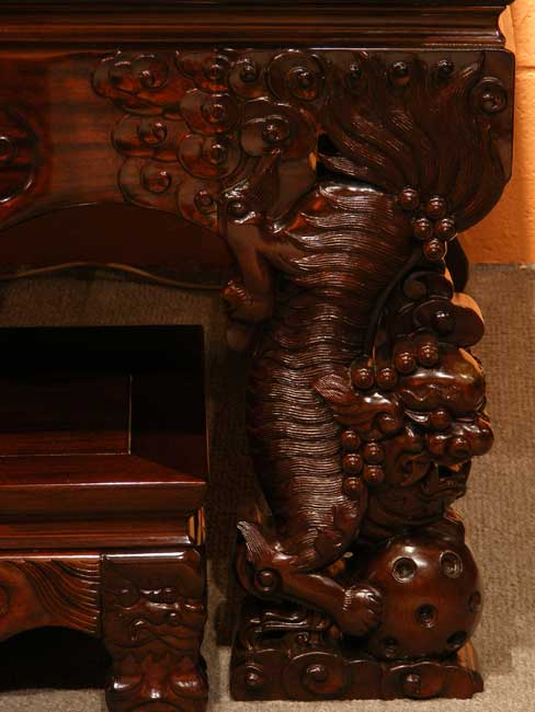 chinese wood carving sample